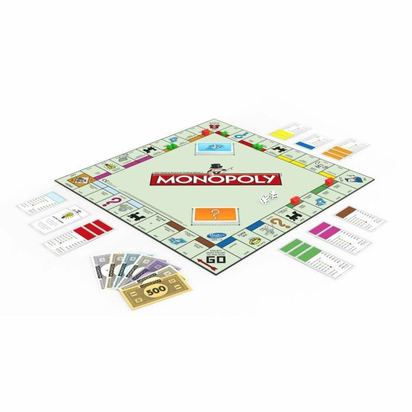 Monopoly Board Game Pieces Money Houses Properties Speed