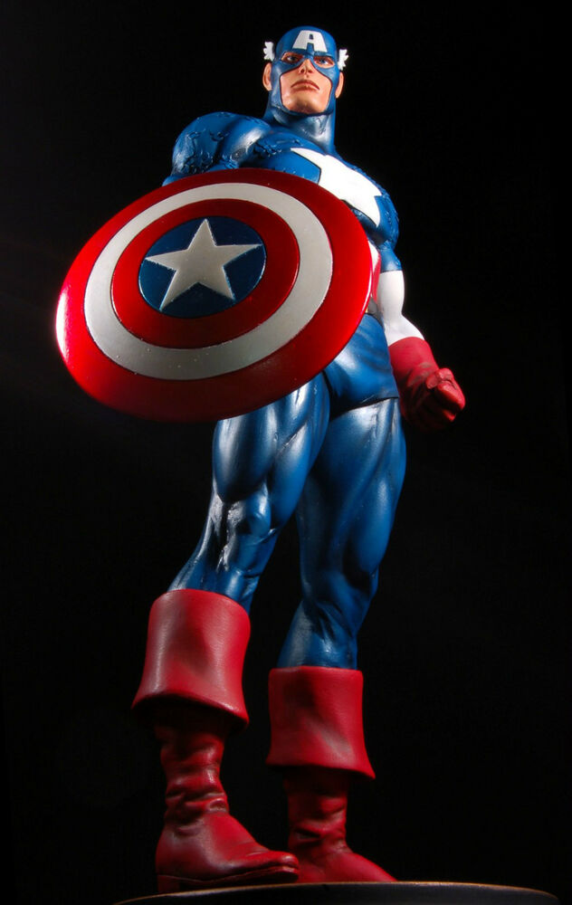 BOWEN DESINGS CAPTAIN AMERICA CLASSIC Full Size STATUE NEW