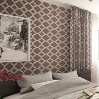 Wall Stencil Moroccan Tiles Pattern -set(2 sheets)- for ...