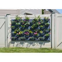 Plantscape Large Hex Vertical Garden Wall Hanging Plant