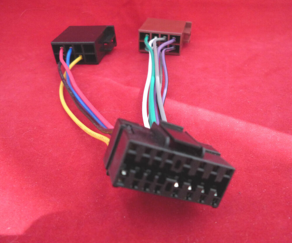 Sony 16 Pin Head Unit Replacement Wiring Harness Soy16