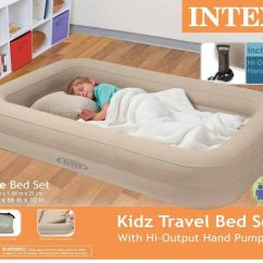 Intex Inflatable Pull Out Sofa And Queen Air Mattress Boston River Vs Plaza Colonia Sofascore Travel Bed Kids Child Airbed Toddler ...