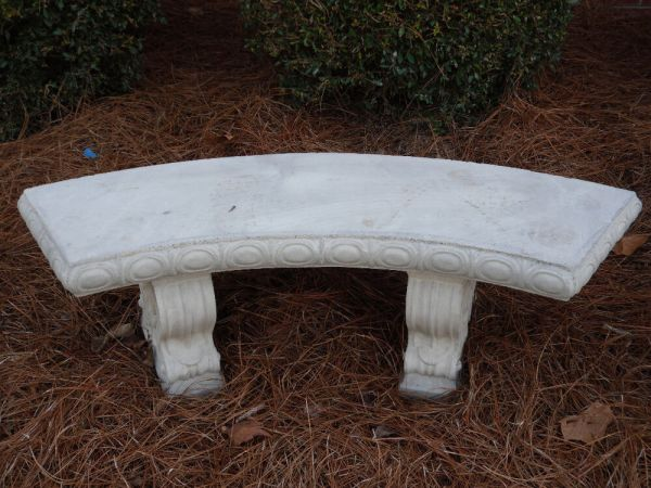 25 Benches With Cement Landscaping Ideas and Ideas on Pro
