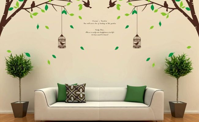 Tree Bird Removable Room Vinyl Decal Art Wall Home Decor