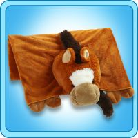 Authentic Pillow Pet Sir Horse Blanket Plush Toy Gift   eBay