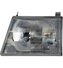 details about oem new 2006 2007 ford econoline lh side headlight assembly 6c2z13008ba [ 1000 x 1000 Pixel ]