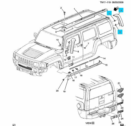 Service manual [Remove The Back Quarter Panel Of A 2008