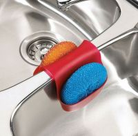 Umbra Hang Over Kitchen Sink Caddy Dish Washing Sponge ...