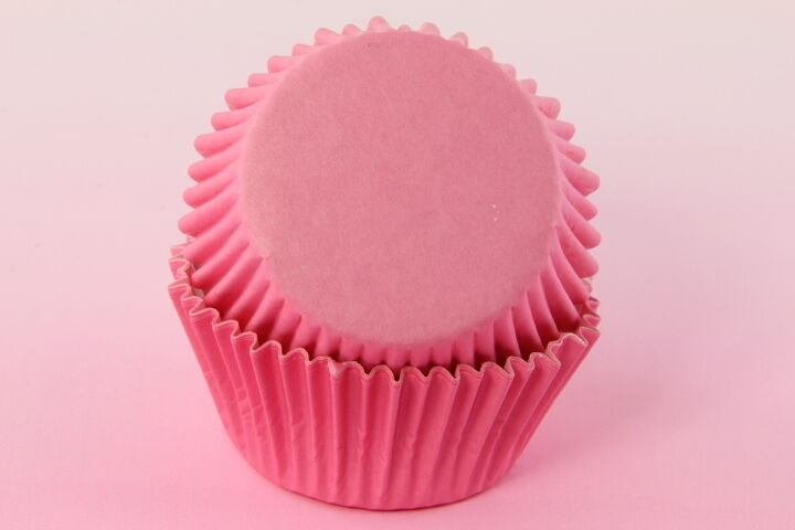 500x, 2'' Cupcake Muffin Liners, Baking Cups, Pink