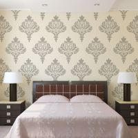 Wall Damask Stencil Balifico for DIY Wall Decor and ...