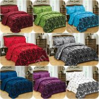 5 PIECES BED IN A BAG BEDDING DUVET COVER BED 4PCS ...