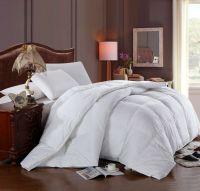 Twin/Twin XL size white down alternative comforter duvet