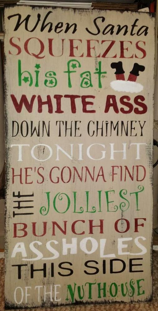 Rustic Merry Christmas Signs Primitive Sign Clark Griswold Quote Christmas Vacation