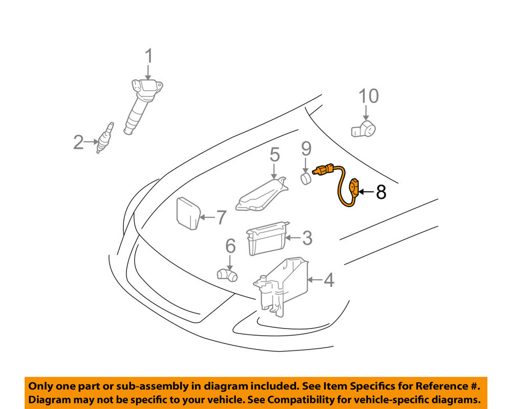 medium resolution of details about lexus toyota oem 06 15 is250 fuel injection pressure sensor 8945830011