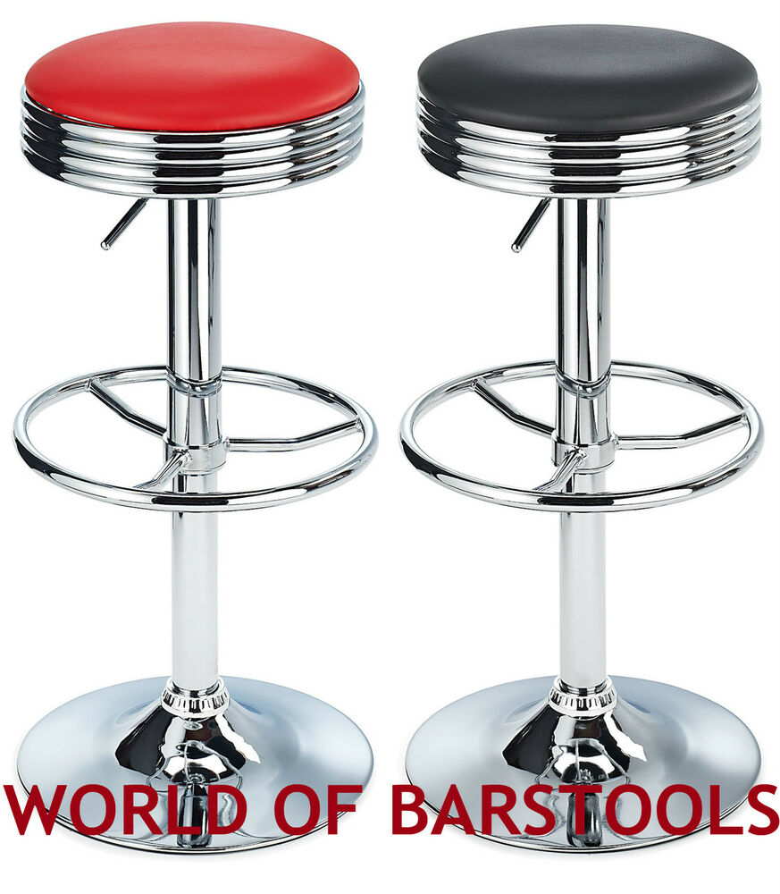American Diner Style Detroit Tabouret De Bar Disponible
