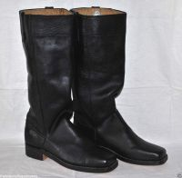 Stove Pipe Boots - Size 14 - Black Leather - L@@K!! | eBay