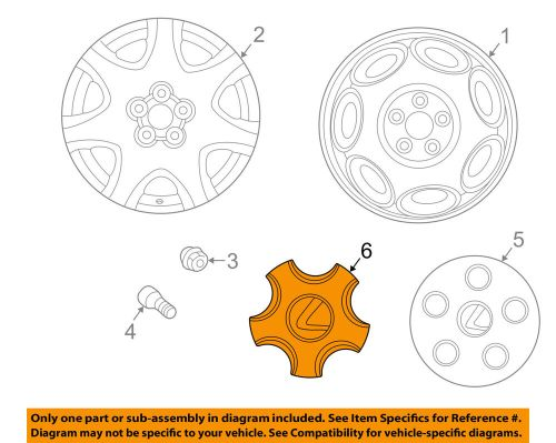 small resolution of details about lexus toyota oem 01 03 ls430 wheel center cap hub cover 4260350170