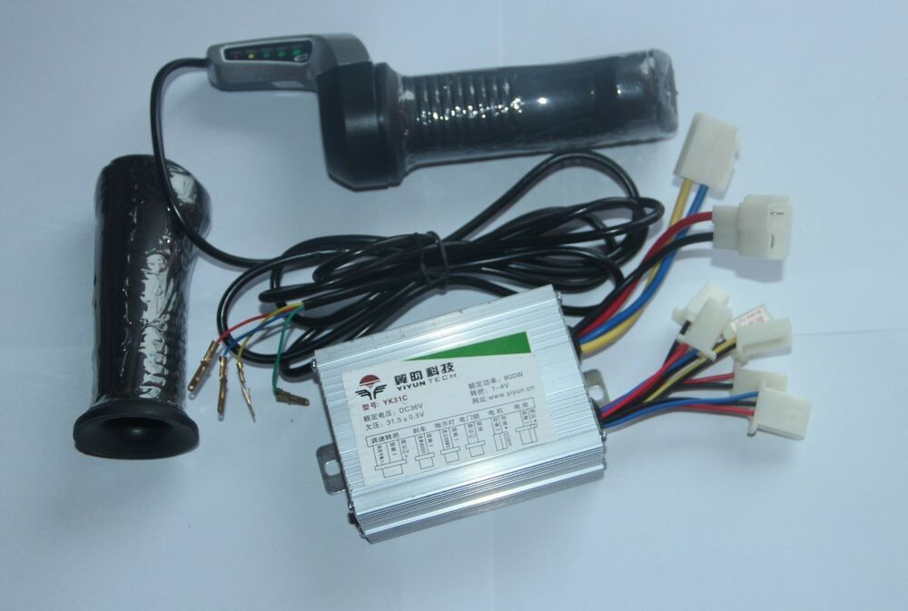 Motor Brush Speed Controller For Electric Bike Bicycle Scooter Ebay