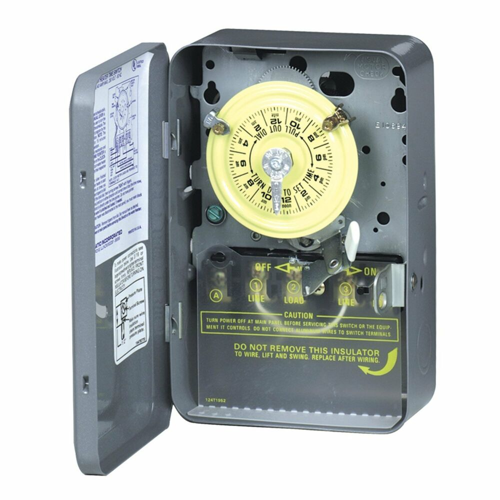 hight resolution of details about intermatic wh40 electric water heater timer grey new free shipping