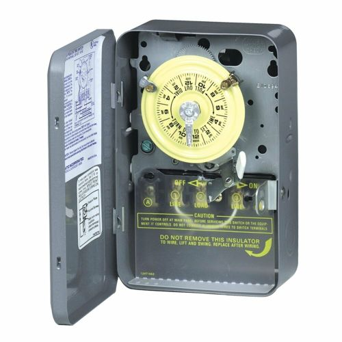small resolution of details about intermatic wh40 electric water heater timer grey new free shipping