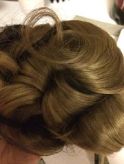 pageant maxi wiglet updo top