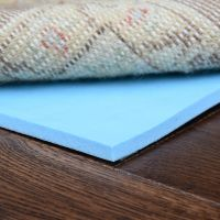 "Natural Rug Pad - Healthier Choice Memory Foam 1/4"" Thick ..."