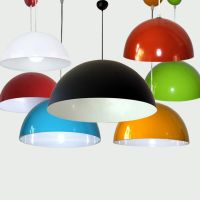Colorful Vintage Metal Lamp Shade Ceiling Light Fixture ...