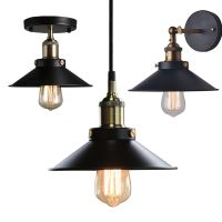Industrial Metal Ceiling Light Fixtures Pendant Wall Lamp
