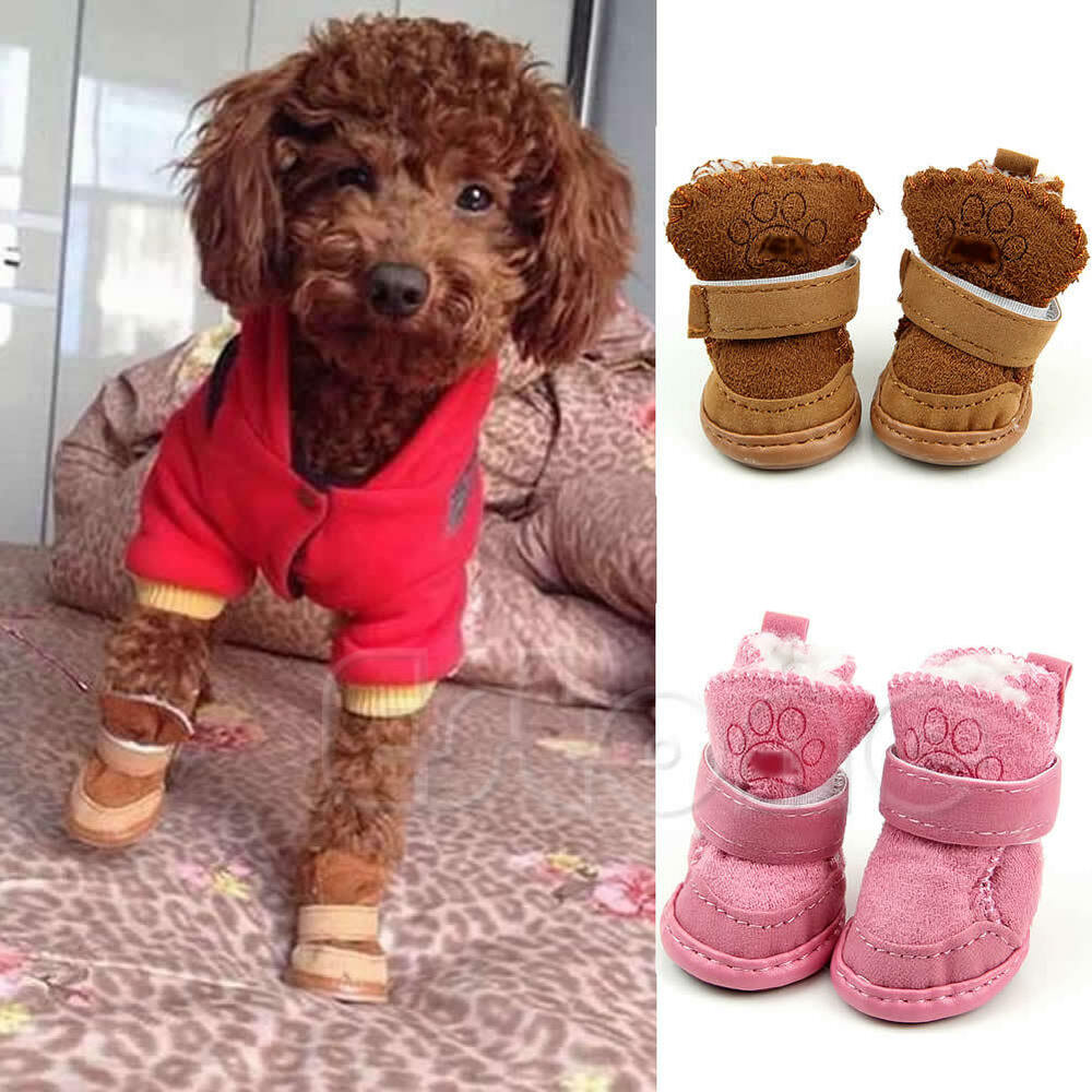 Fancy Dress up Dog Pet Chihuahua Boots Puppy Shoes For
