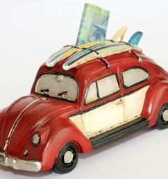 details about money box vw beetle bug classic old style surfboardrustic design money bank [ 1000 x 817 Pixel ]