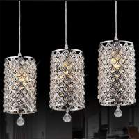New Crystal Chandelier Ceiling Pendant Light Fixture ...