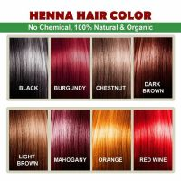 Henna Hair Color  100% Organic and Chemical Free Henna ...