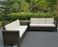 White Wicker Patio Furniture Ebay