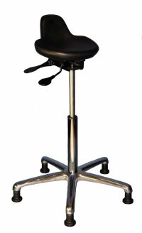 lab stool/ chair sit stand chair/ stool by EPI 12 yr
