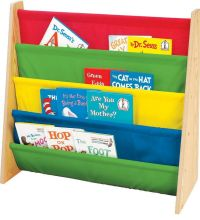 Book Rack Bookcase Kid Toddler Children Storage Organizer ...