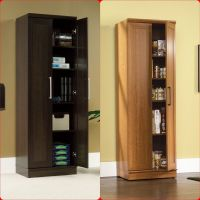 Tall Cabinet Cupboard Storage Organizer Office Laundry ...