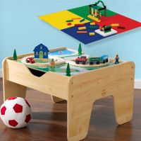 Kids Play Table Lego Builder Activity Toddler Toy Storage ...