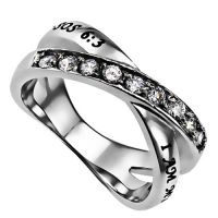I Am My Beloved Ring, Promise Ring for Her, Christian