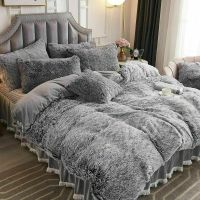 BEAUTIFUL MODERN ELEGANT BLACK GREY SCROLL COMFORTER SHEET ...