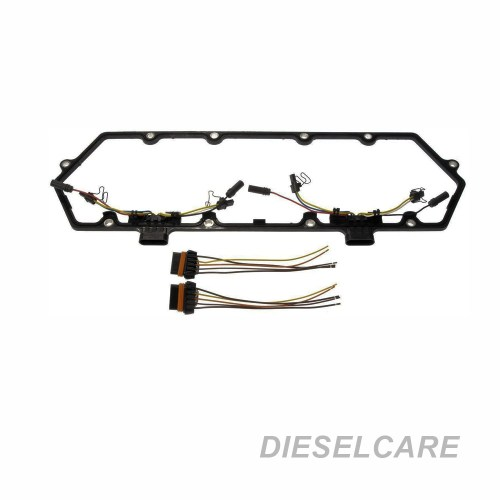 small resolution of  new 94 97 powerstroke 7 3l valve cover gasket w fuel injector glow on international 4700 wiring harnesses