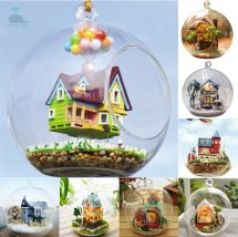 Diy Handcraft Miniature Project Kit Glass Ball Series Led