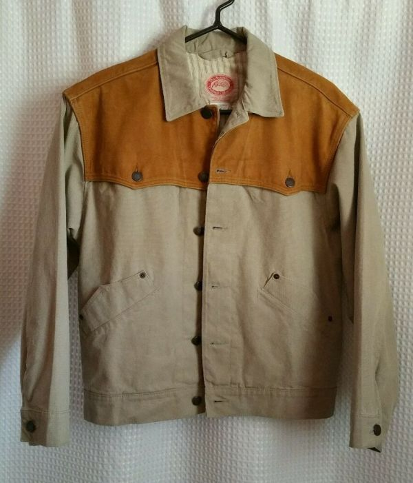 Australian Outback Collection Coat Jacket With Leather