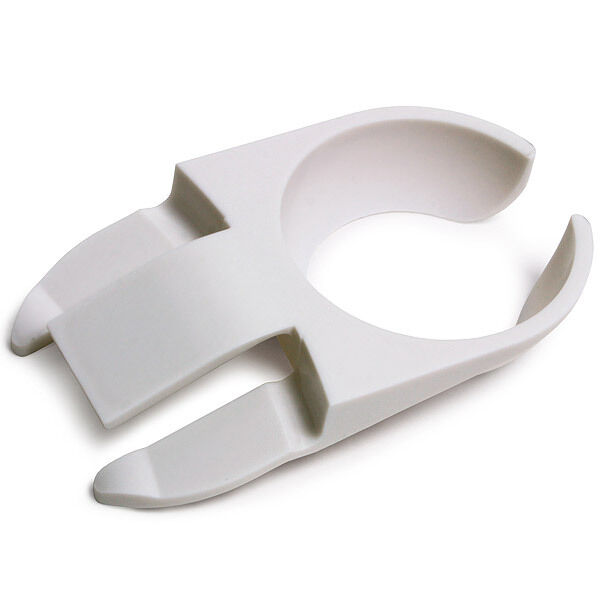 Wine Glass Holder Buffet Stand Up Plate Maid Clip White
