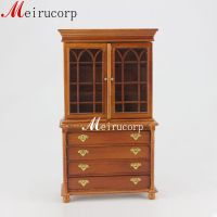 Vintage Wooden Cupboard Miniatures Furniture for Dollhouse ...