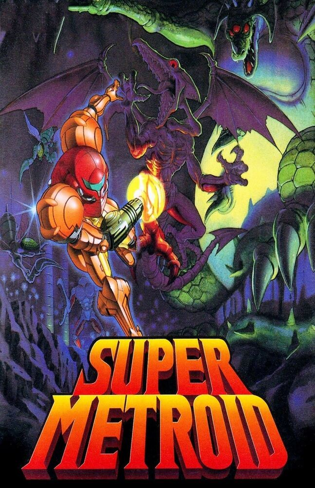 Gift Wallpaper Hd Super Metroid Huge Poster 22 Inch X 34 Inch Fast
