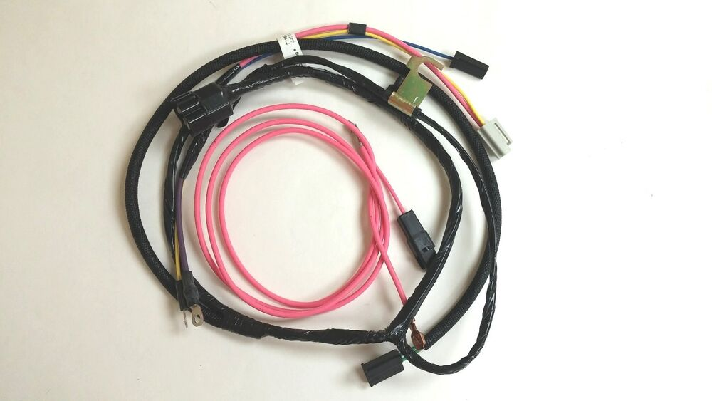 Chevy Pickup Truck Engine Wiring Harness Warning