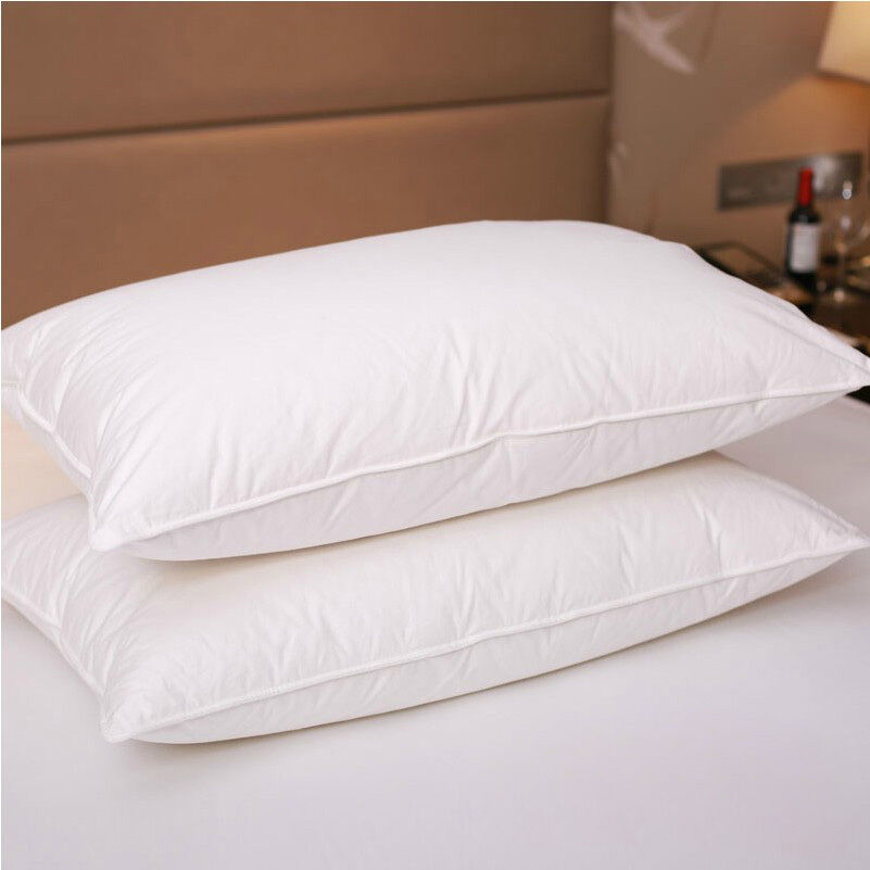 Pure Canadian Goose Down Filled Pillow1800TC White 100
