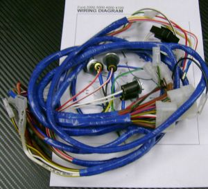 * Ford 2000,3000,4000,4100 Tractor Wiring HarnessLoom For