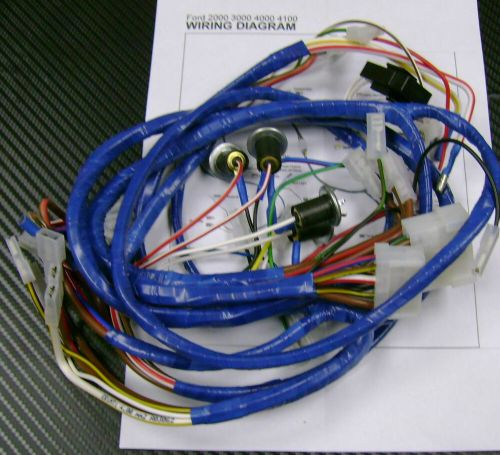 small resolution of ford 2000 3000 4000 4100 tractor wiring harness loom for ford 8n wiring harness ford 9n wiring harness