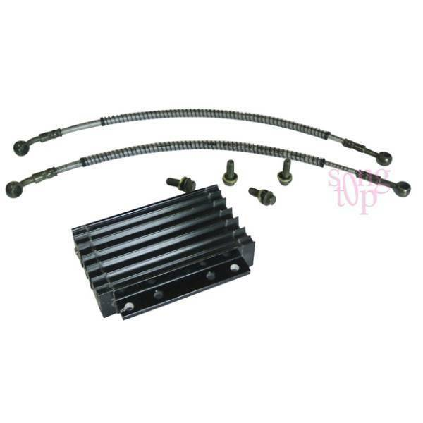 CNC Motorcycle Oil Cooler Kit Radiator Cooling ATV Dirt